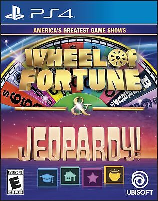 America's Greatest Game Shows: Wheel Of Fortune & Jeopardy! (PlayStation 4)
