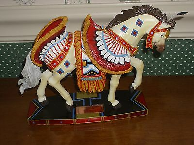 Horse Of A Different Color  Figurine-Bird Dancer-New In Box