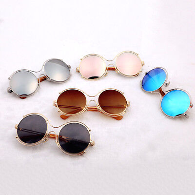 Girls Baby Retro Kids Sunglasses New Fashion Anti-UV Boys Children Glasses Round