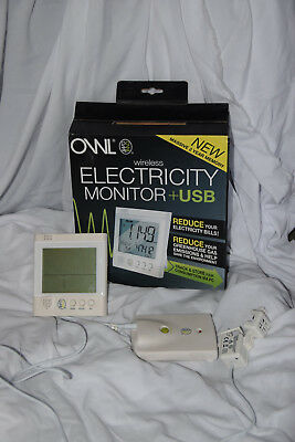 OWL Electricity Monitor + USB - energy monitor. Used.