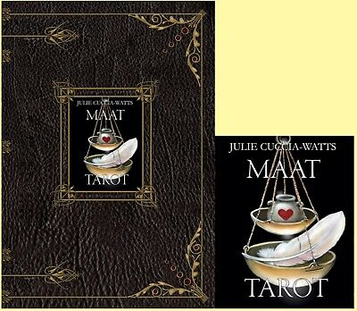 MAAT TAROT Deck and Book by Julie Cuccia-Watts NEW SEALED OOP RARE