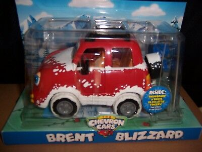 Chevron Toy Cars Brent Blizzard Red Car