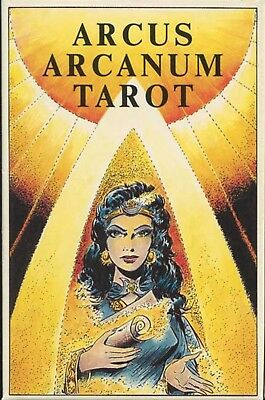 Arcus Arcanum Tarot OOP Never Used EXCELLENT COLLECTIBLE