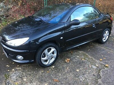 Peugeot 206 Allure Coupe Cabriolet 1.6 2005 86000 Miles Great Condition