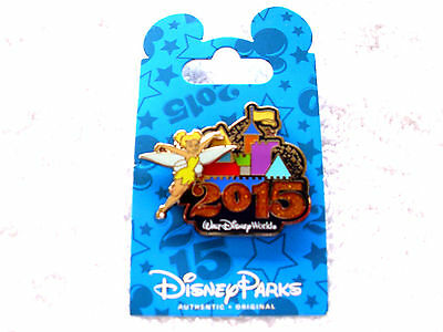 Disney * 2015 Dated - Tinker Bell & Castle * New on Card WDW Trading Pin