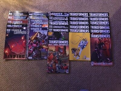 IDW Comics - Transformers Robots in Disguise 27 comic collection inc. Issue 50