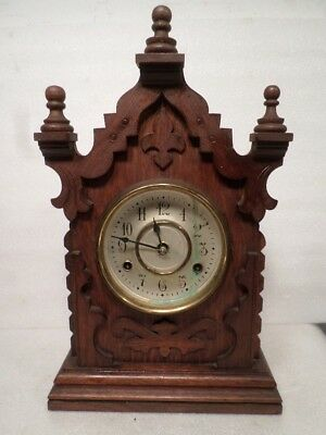 New Haven Striking 8 Day 'Orion' Kitchenette Clock