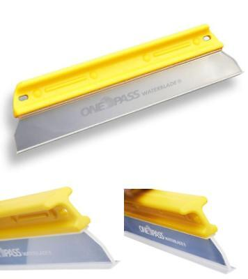 "Silicone Water Blade Squeegee One Pass Original Flexible Soft-N-Dry 11"" T-Bar"