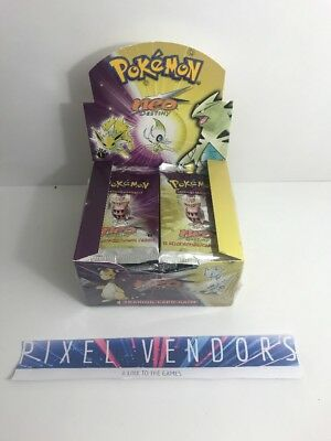 Neo Destiny 1ST EDITION EMPTY BOOSTER BOX - POKEMON TCG BOOSTER BOX OPENED
