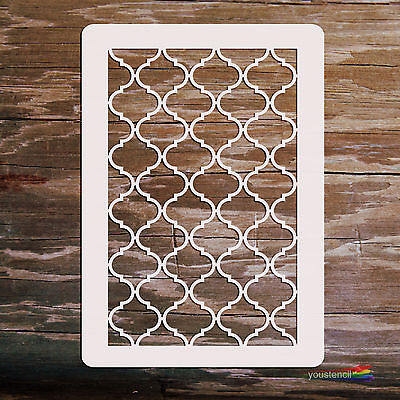 Moroccan #1 Stencil Template:  Scrapbooking, Airbrushing : ST22