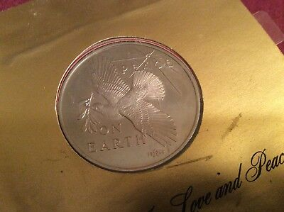 First Christmas Coin Minted At Franklin Mint 1965