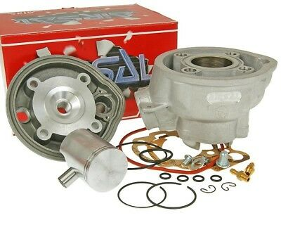 Zylinder Kit Airsal M Racing 50 cc for Minarelli AM » Peugeot XR6 AM6