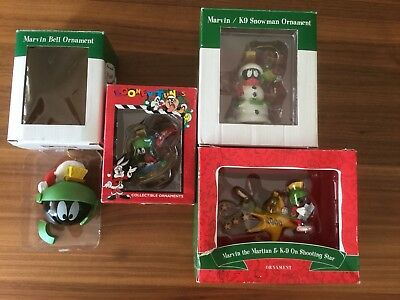 Marvin The Martian/Warner Brothers Christmas Ornaments Decorations