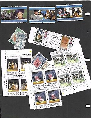 PITCAIRN IS. sc#469-74 (1997) COMPLETE MNH + NICE LOT