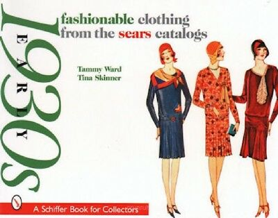 1930s Fashionable Clothing from the Sears Catalogs, 3 Volume Set, New Books