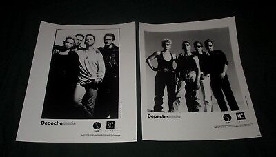 Depeche Mode-Set Of 2 Vintage 1990 Sire Records Promotional Photos