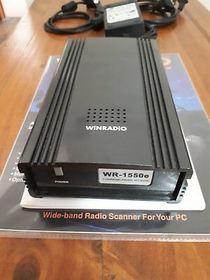 Early Win Radio Wr-1550E Wide Band Radio Receiver For A Pc