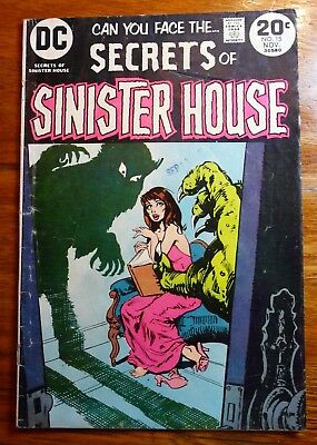 Secrets of Sinister House Comic Book No 15 Nov 1972 DC Comics