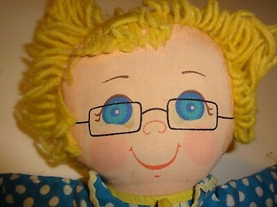 1973 Mattel Mrs Beasley Family Affair Stuffed Doll 15 1/2""