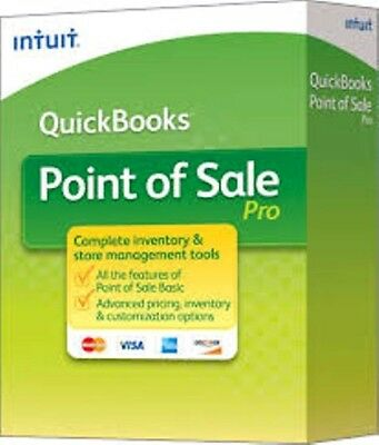 Intuit QuickBooks Point of Sale Pro 2010 V10 2-User New unregistered download