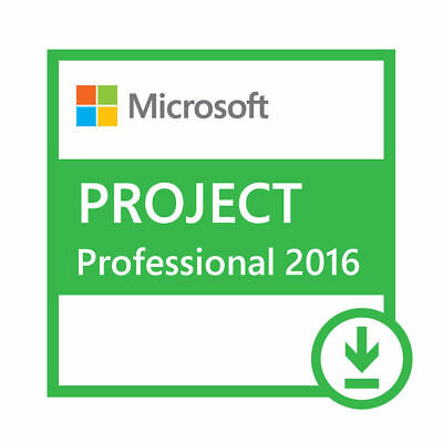 Microsoft Project Professional 2016 1 User Full Software Download