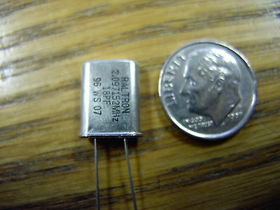 2.097152 MHz 18 PF CRYSTAL      NOW 4 CRYSTALS, PER PK only $4.00