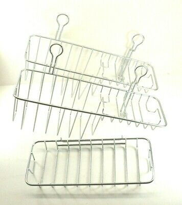 IKEA Immeln Shower Baskets Only (No Knobs) + Extra Rack Replacement Part  Piece 79b67ef2dfdf5