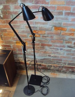 2 x FLOOR LAMP - PLANET STUDIO K Model - RETRO VINTAGE LIGHTING