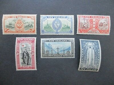 New Zealand Stamps: Singles - 1946 - Great Items! (A907)
