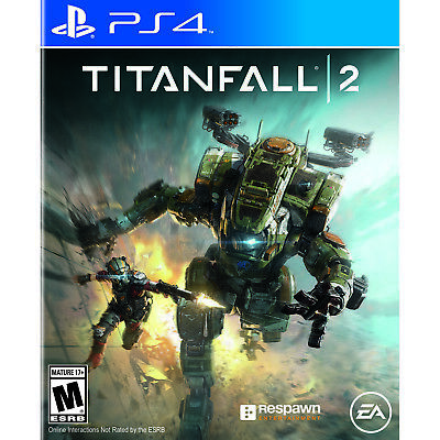 EA Titan Fall 2 PS4 FPS First Person Shooter Video Game Mech Multi Single