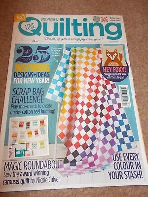 PATCHWORK & QUILTING magazine - issue 17