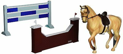Breyer Classics Show Jumping Horse Toy Set