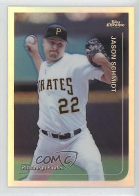 1999 Topps Chrome Refractor #168 Jason Schmidt Pittsburgh Pirates Baseball Card