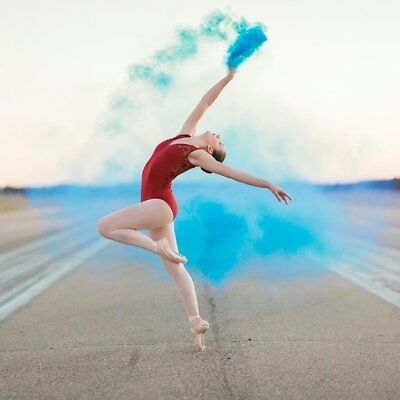 Smoke Bomb White Colour Color Photography Effect Party Film Photograph Christmas
