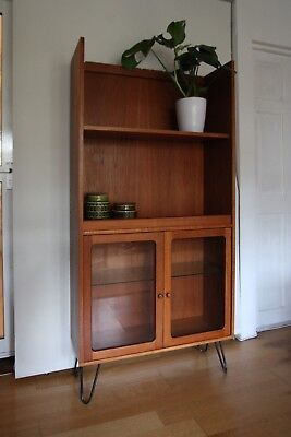 G Plan retro vintage display cabinet unit bookcase mid-century up-cycled