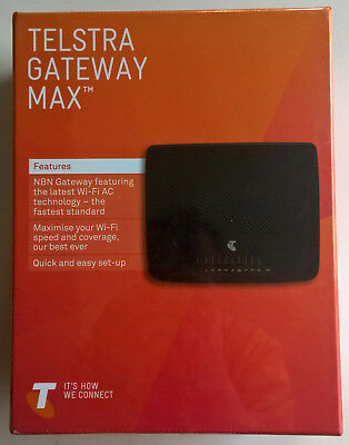 TELSTRA GATEWAY MAX TG799vac NBN ready Wi-Fi Modem also does ADSL2 -New Unopened