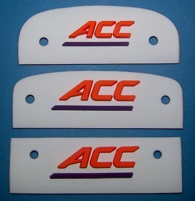 Clemson 3D Bumpers Helmet Decals Raised 3-D Rubber Sticker New Large Tigers