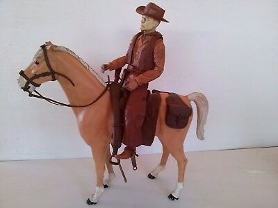 Vintage Johnny West MARX Johny West and Thunderbolt with accessories