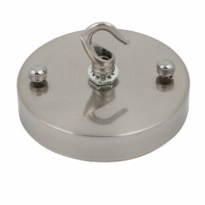 Disc Chassis Base Pendant Accessories DIY Ceiling Lamp Disc Kit Sliver Tone