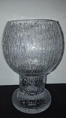 Iittala Kekkerit Vase Made In Finland 18Cm High Excellent Condition