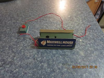 Tyco Maxwell House / Payday Train Whistle .  - Model Train