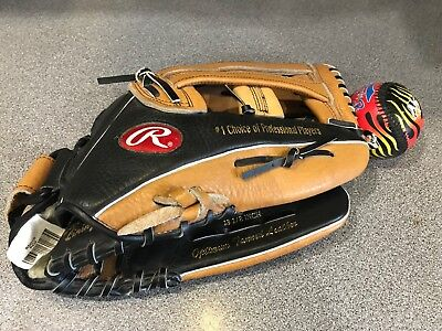 """Rawlings Fastback Rsg1D . 13.5"""" Baseball Glove , Right Handed Thrower.with Ball"""