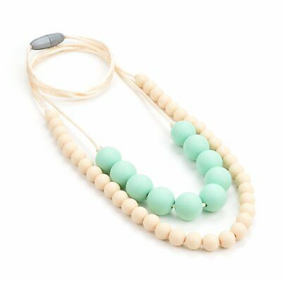 Lofca Silicone Teething Necklace-Baby Toy for Mom to Wear- Stylish Teether-Safe