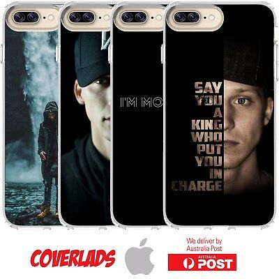 Cover Case Rap Hip-Hop NF Motivated Therapy King In Charge - Customlads