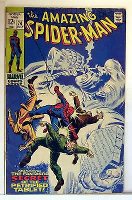 Amazing Spider-Man (Vol 1) # 74 fein (FN) RS003 Marvel Comics Silver Age