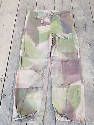 Ww2 Sas Original Windproof Trousers Camouflage 1943 Special Forces British Army