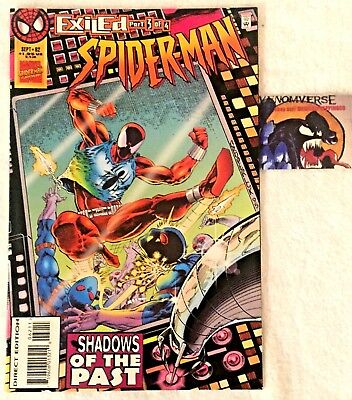 Spider-Man #62 Exiled Part 3 Shadows Of The Past Vulture Dr Octopus App! Vf/nm