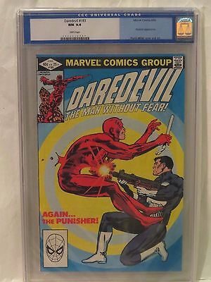 Daredevil #183 CGC 9.4 Punisher Appearance
