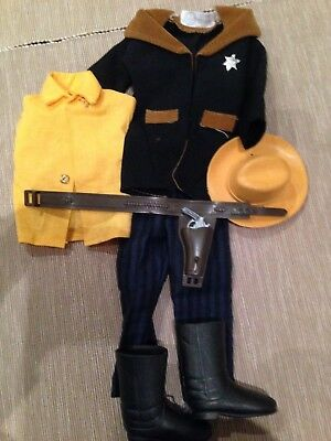 Action Team SHERIFF WILDWEST ABENTEUER Outfit Nr. 664154 70iger Jahre