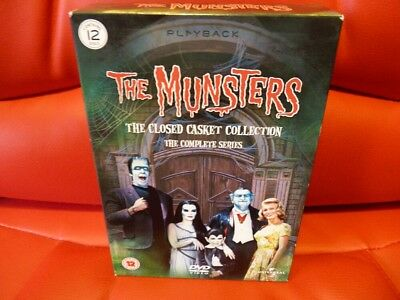 The Munsters Closed Casket Collection Complete Series DVD box set